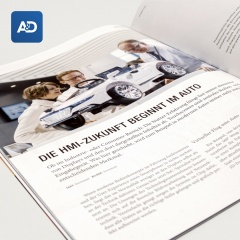 """Promotion """"Storyboard"""" (pro Seite) in A&D Magazin Oktober 2022"""
